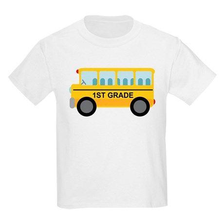 1st-Grade-School-Bus-T-Shirt-SR01
