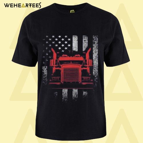 American Trucker T Shirt