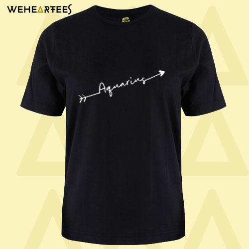 Aquarius Birthday T Shirt