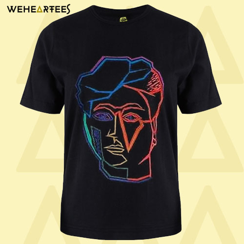 Artist Studio Face Print T Shirt