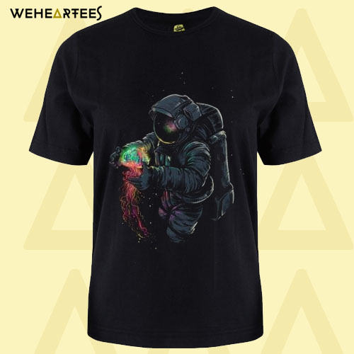 Astronaut Awesome T Shirt