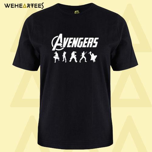 Avengers Silhouette T Shirt