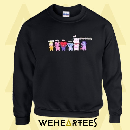 BTS K-pop Women Sweatshirt