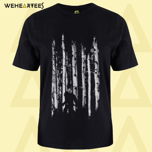 Bigfoot in the Forest T-Shirt