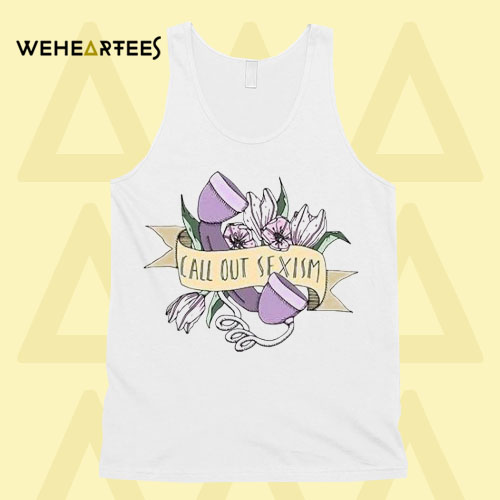 Call Out Sexism Tanktop