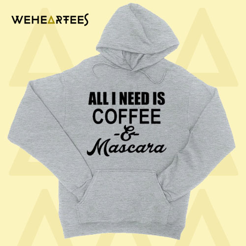 Coffee and Mascara Hoodie