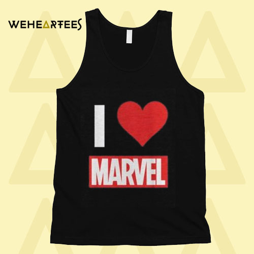 Marvel I Love Tank Top