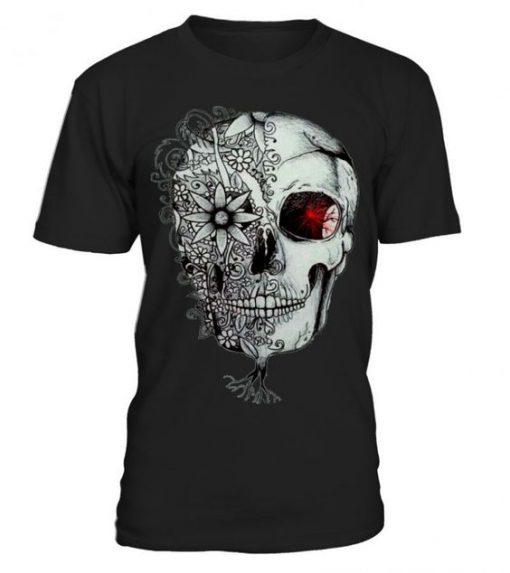 Skull-Flower-Halloween-T-shirt-ZK01-510x573