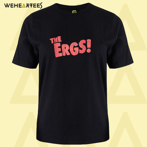 90s vintage The Ergs band T Shirt