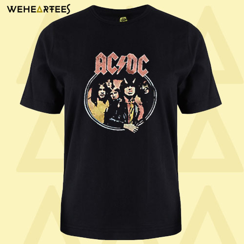 ACDC Highway To Hell Tour T shirt