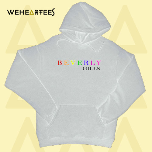 Beverly Hills colour Hoodie