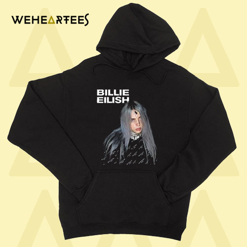 Billie Eilish Girls Hipster Hoodie