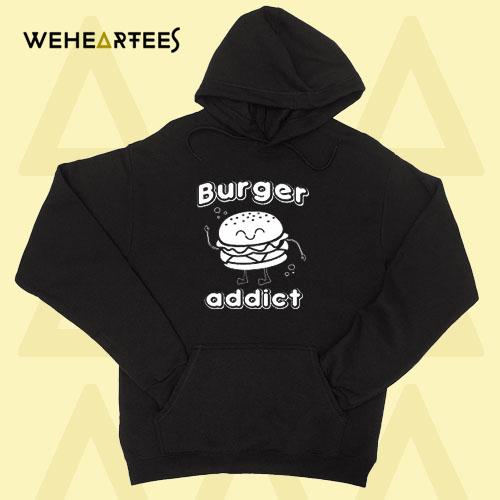 Burger Hoodie Burger Addict Hoodie