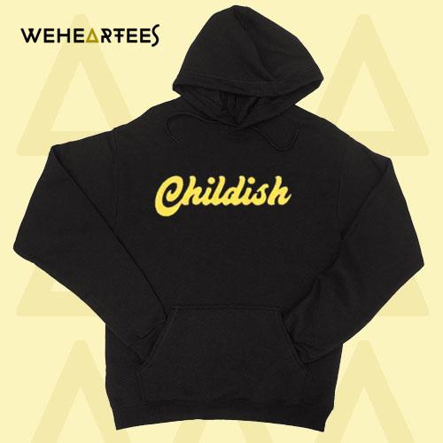 Childish Logo Hoodie