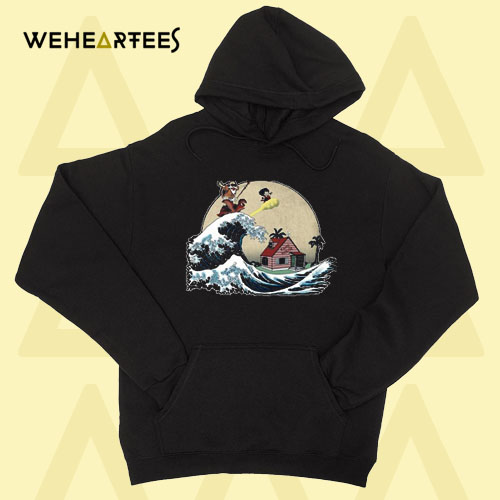 GOKU And MASTER ROSHI Ride The Wave Hoodie