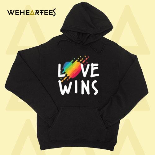 Love always wins Hoodie