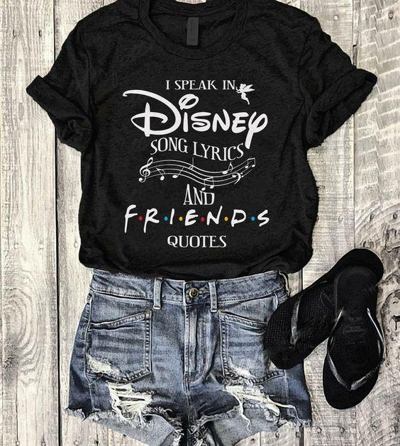 Disney And Friends T Shirt