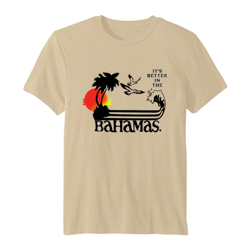It's Better In The Bahamas vintage t-shirt