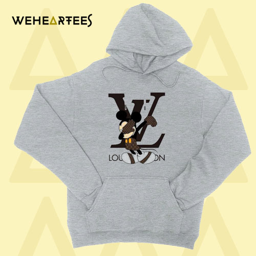 Louis Vuitton Hoodie Mickey Mouse Hoodie