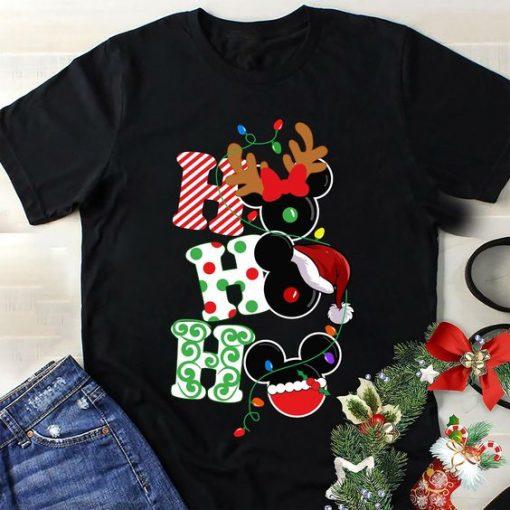Disney Christmas HOHOHO Tshirt DAP