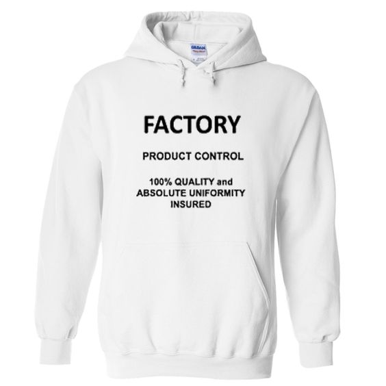 Factory product control hoodie DAP