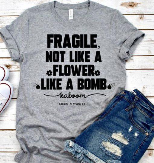 Flower Like A Bomb T-shirt DAP