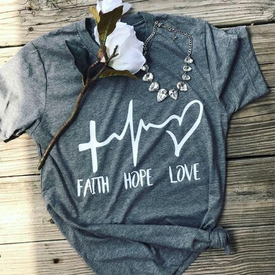 2018 Women Faith Shirt DAP