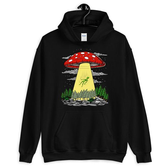 Alien Abduction Hoodie DAP