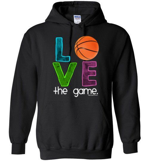Basketball Love The Game Hoodie DAP