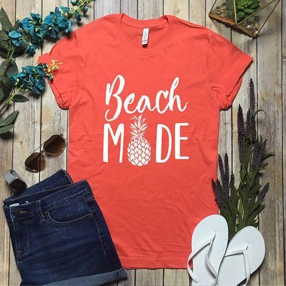 Beach Mode Tshirt DAP