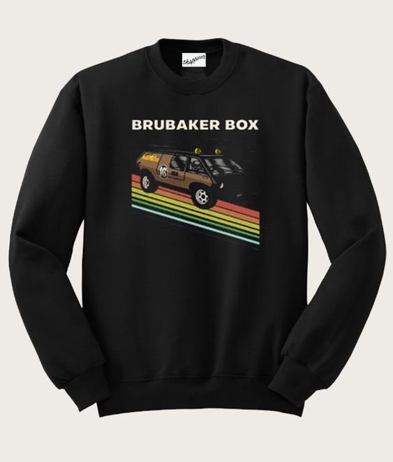 Brubaker Box Baja Style Vehicle Sweatshirt DAP