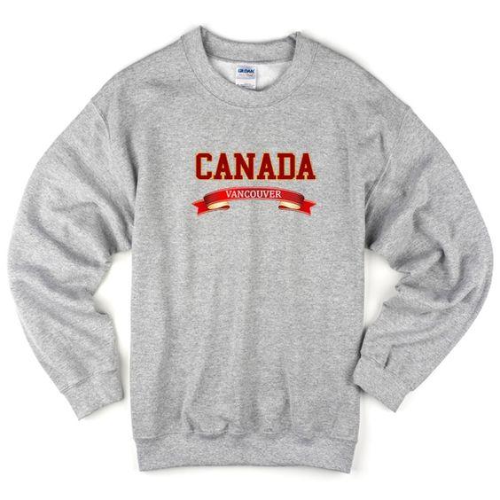 Canada Vancouver Sweatshirt DAP