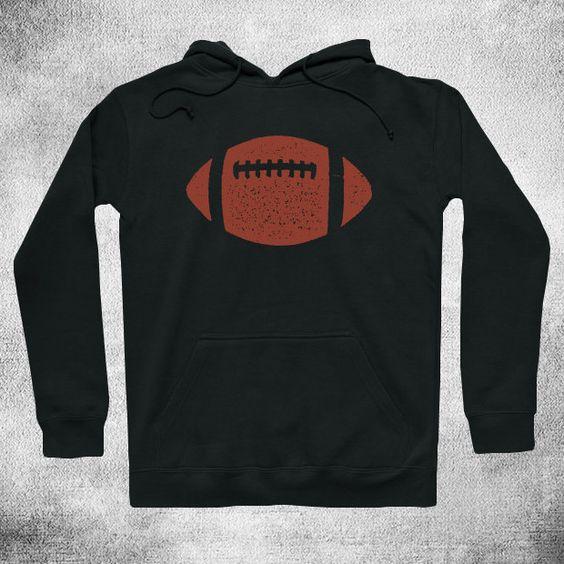 Classic American Football Ball Hoodie DAP