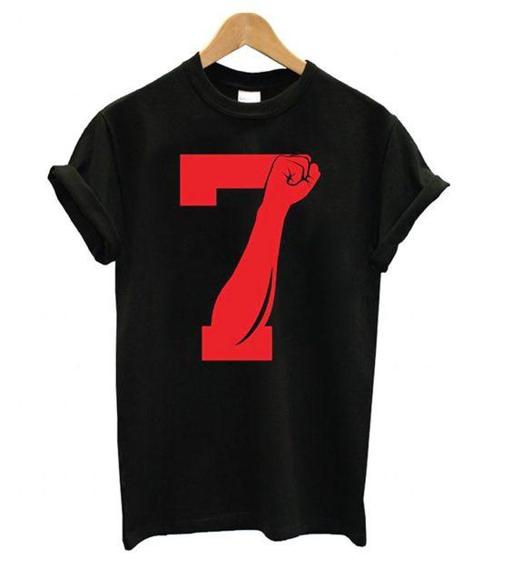 Colin Kaepernick Black T shirt DAP