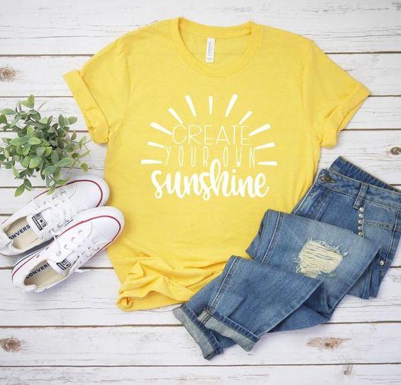 Create Your Own Sunshine Tshirt DAP