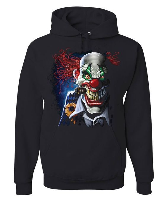 Creepy Joker Clown Hoodie DAP