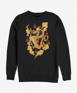 Disney Mulan Golden Mushu Sweatshirt DAP