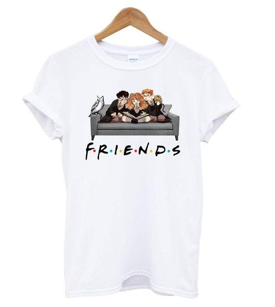 F.r.i.e.n.d.s Harry Potter Movie Mashup t shirt DAP