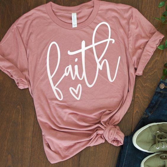 Faith Love Cute t shirt DAP