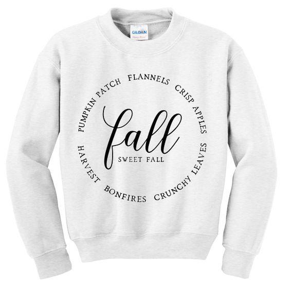 Fall sweet fall sweatshirt DAP