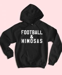 Football And Mimosas Hoodie DAP
