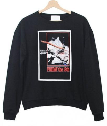 Friday The 13th Sweatshirt DAP