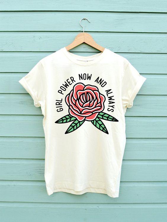 Girl Power Soft Cotton T-Shirt DAP