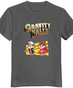 Gravity Falls Logo Tshirt DAP