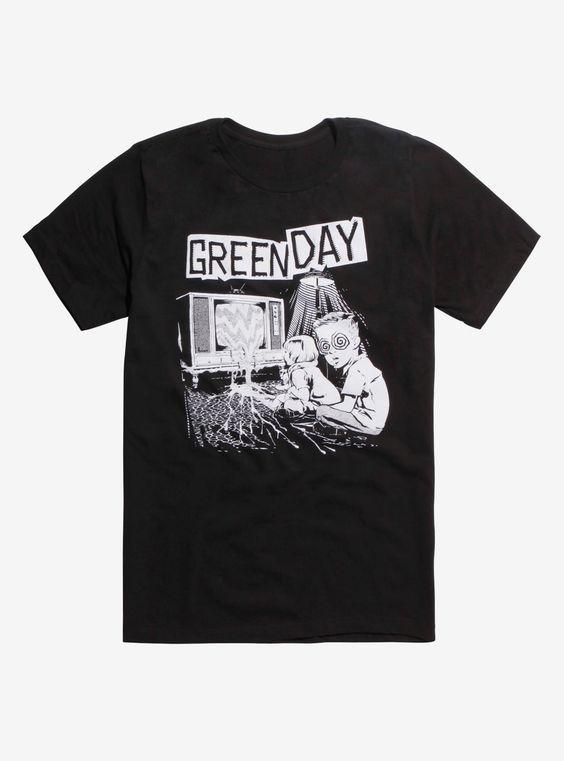 Green Day Hypnotized Tshirt DAP