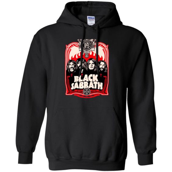 Group Crest Black Sabbath Pullover Hoodie DAP