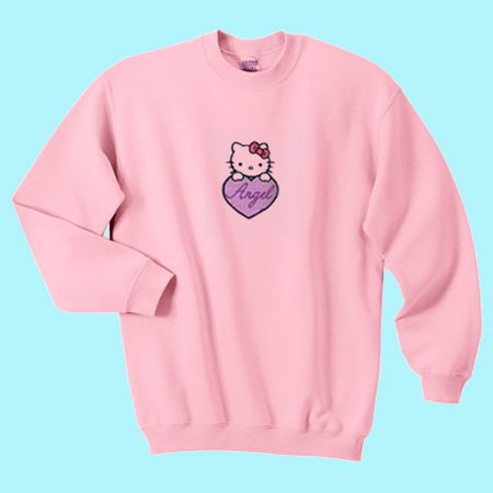 Hello Kitty Angel Love Sweater SWEATSHIRT DAP