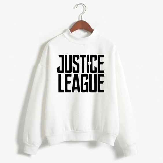 Justice League Exclusive white sweatshirts DAP