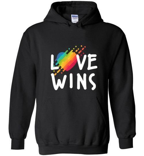 Love Wins Hoodie DAP
