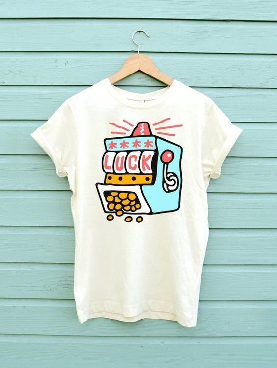 Luck Fruit Machine Shirt dap